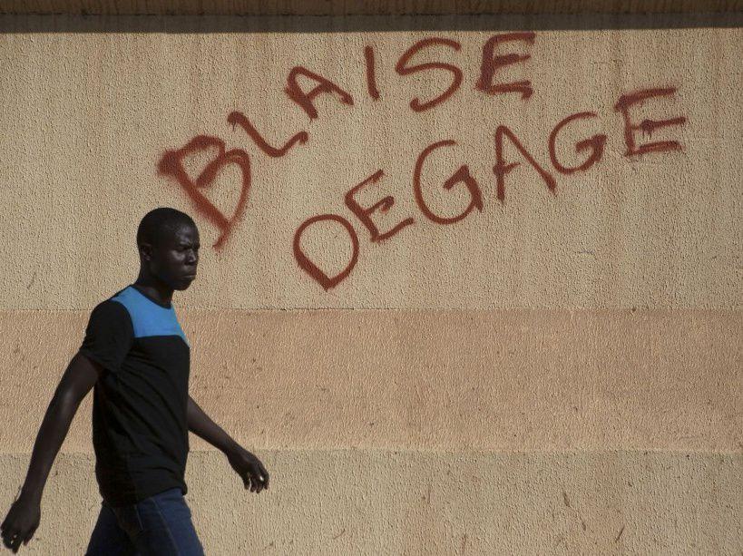 Diaporama des émeutes à Ougadougou (30/10/2014)