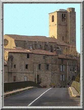 Diaporama château et église fortifiée de Fabrezan