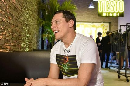 """For @tiesto, """"connecting to audience is like 'having sex"""""""