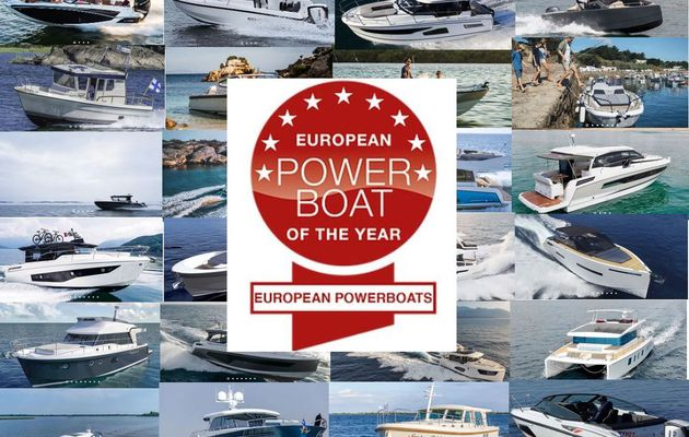 Discover the 24 motorboats competing for European Powerboat of the Year 2019