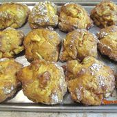 Biscuits rustiques pommes-cannelle - www.sucreetepices.com