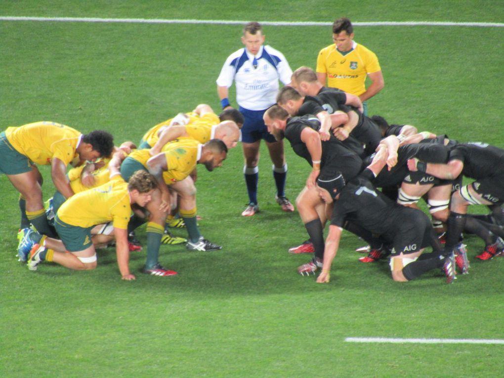 Arrivée en Nouvelle Zélande - Match des All Blacks, Auckland
