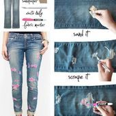 Comment déchirer vos jeans | Diy ripped jeans, Diy distressed jeans, Diy fashion projects