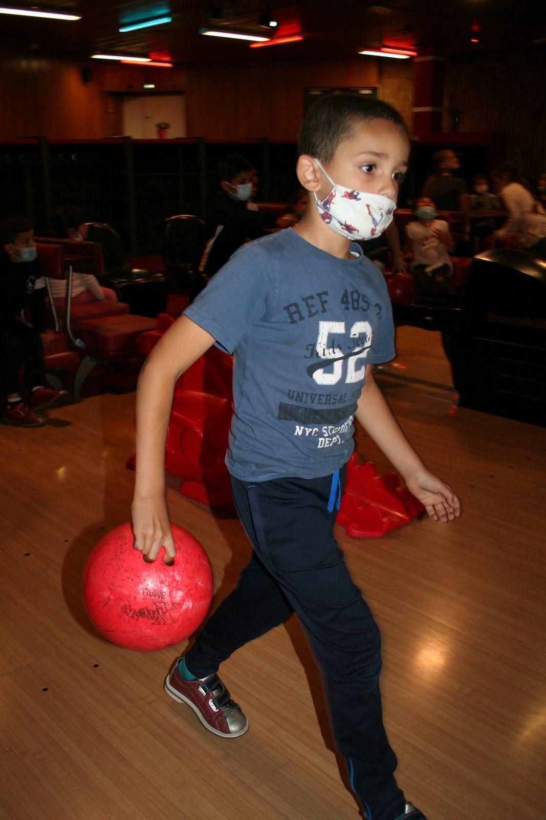 Centre Jean Zay-Primaire-6/8 ans. Sortie Bowling