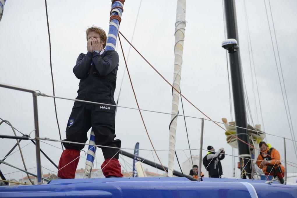François Gabart a battu le record du tour du monde à la voile en solitaire