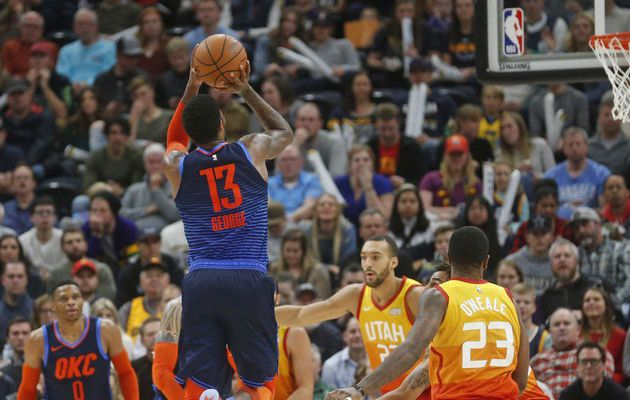 Paul George s'occupe du Jazz