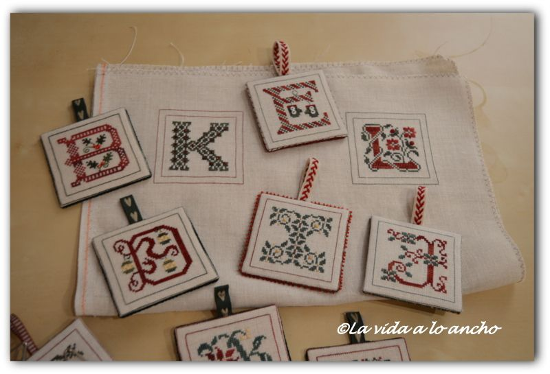ALPHABET ORNAMENTS (1ª PARTE)