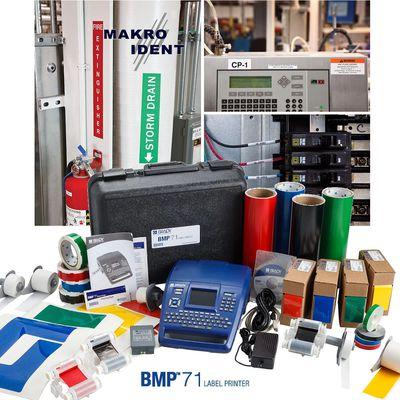 Etikettendrucker Brady BMP71 für verschiedenste Kennzeichnungen