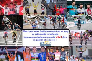 La rédaction de Vélo 101 vous transmet ses meilleurs vœux pour l'année 2021 !...