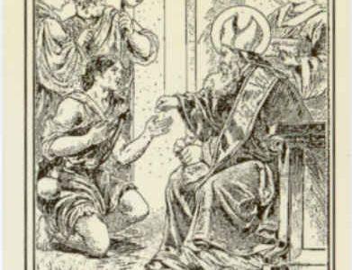 1 Marzo : Sant'Albino, vescovo di Angers