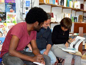 Causerie Gaston avec Jean-Marc Estournès et Fernand James à Calédo Livres