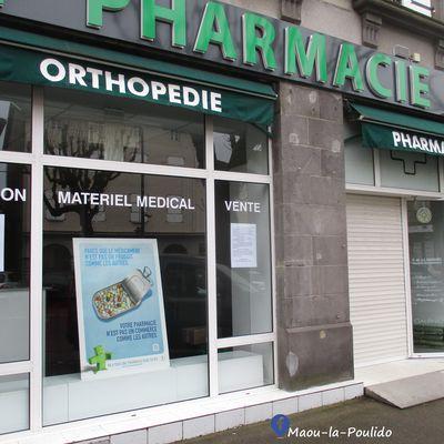 Note de la pharmacie MANHES de Maurs