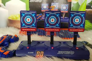 Cible de Scores Nerf Electronique