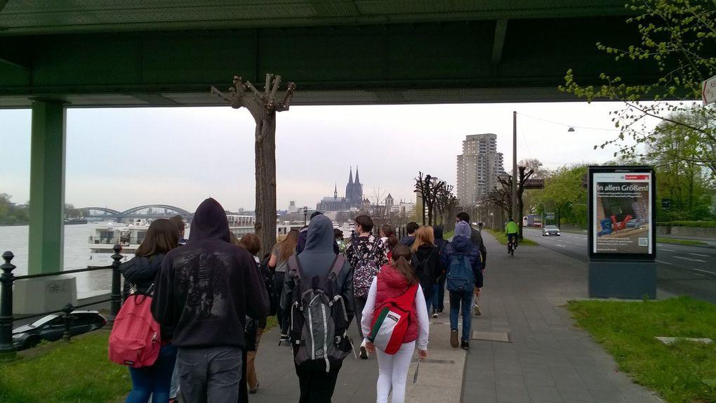 """Projet """"Espace à l'espace"""": notre voyage à Cologne"""