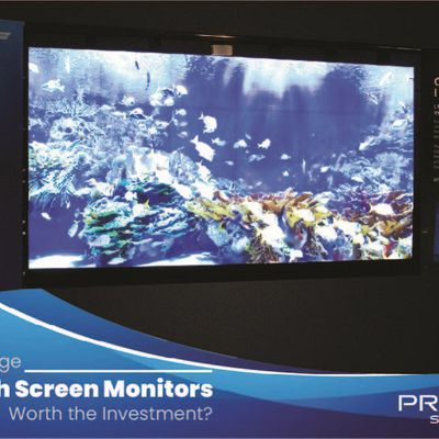 Are Large Touch Screen Monitors Worth the Investment?