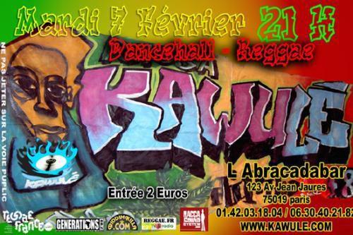 Tous les flyers reggae de février 2006.