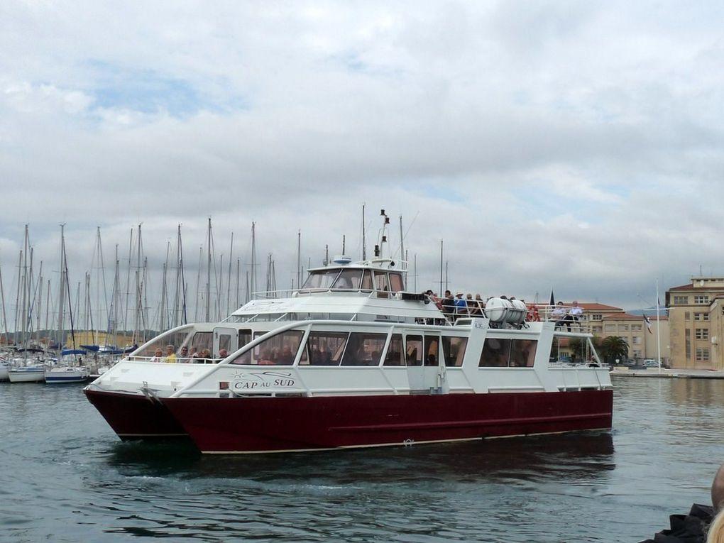 CAP AU SUD , Vedette pour la visite de la rade et des iles à Toulon