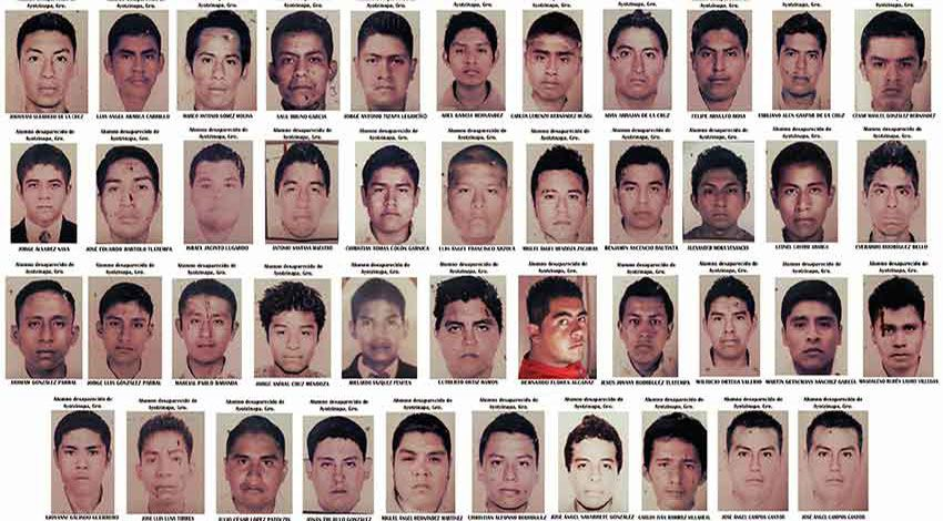LES DISPARUS D'AYOTZINAPA (The 43)