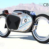 Concept Honda cb160e par James Stumpf - Blog Déco Design