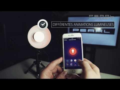 Une ampoule LED RVB connectée originale