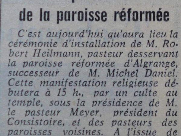 Livre de Roland SEBBEN - ALGRANGE Cité aux 4 mines - La paroisse protestante de 1918 à 1985 (9b)