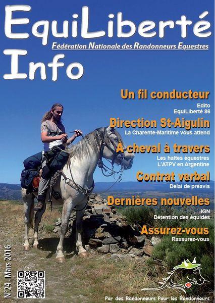 L' EquiLiberté Info de mars 2016 est en ligne