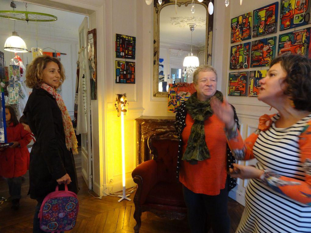 Sophie Dubromel Rippe, Catherine Landraud et Raphael Rippe .