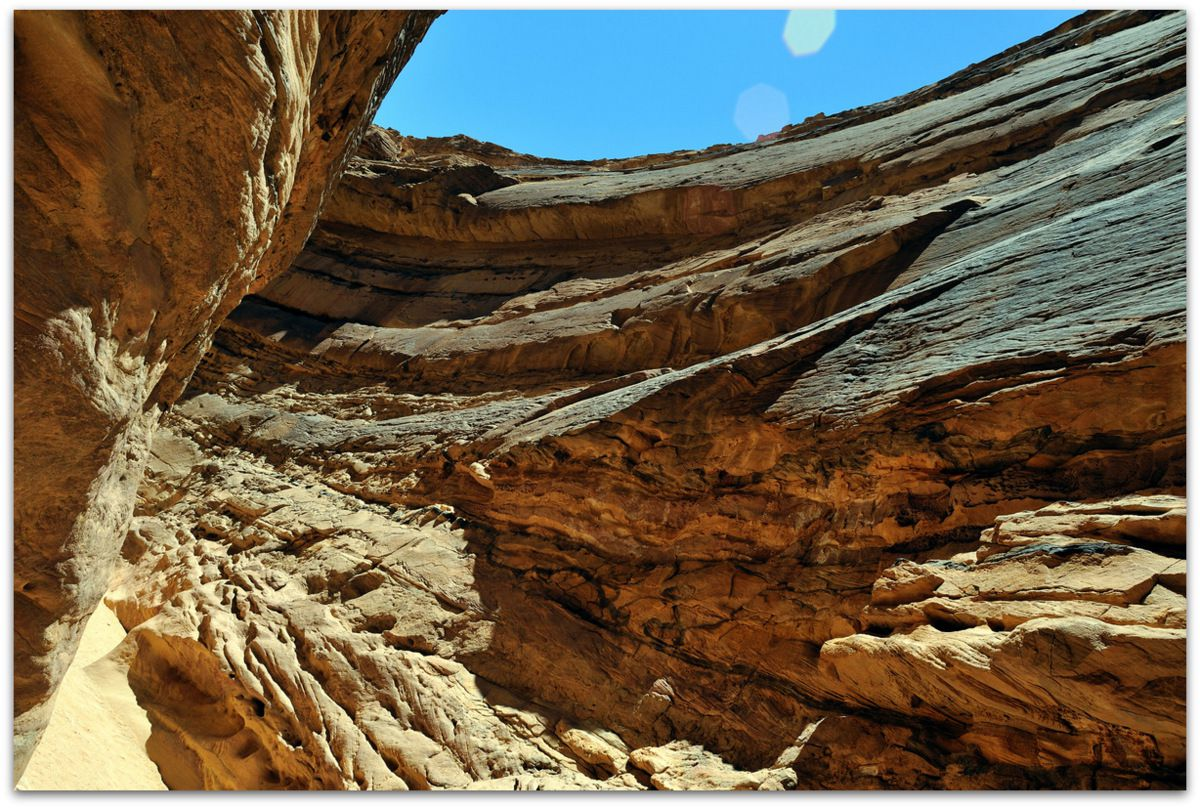 Labyrinthe du Coloured Canyon, Sinaï...