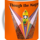 Though The Magus Text Coffee Mug for Sale by Michael Bellon
