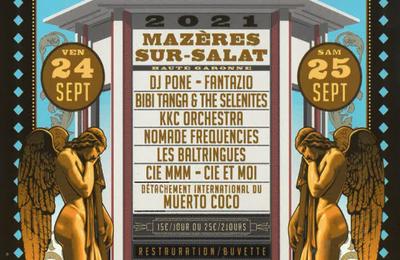 Mazères sur Salat - Kollectif Salat Salat le festival le Bruit du Papier