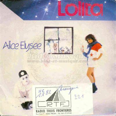 """Alice Elysée, une chanteuse belge qui fut la précurseur de notre alizée nationale et son hit """"lolita"""" et """"pas d'accord"""""""