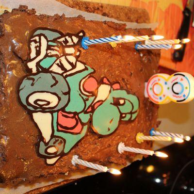Décor de gâteau Yoshi