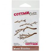 CZCC-183 : CottageCutz Die Winter Branches Fée du Scrap