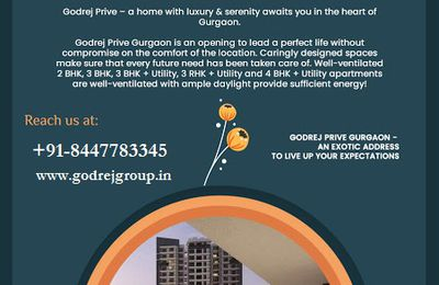 Godrej Prive Sector 106 - Home Is Where Your Heart Is Gurugram
