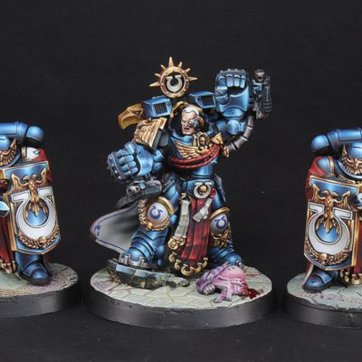 Commission Work: Marneus Calgard Games workshop.