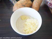 gratin de patate douce sans lactose