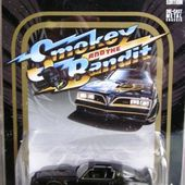 PONTIAC FIREBIRD TRANS AM 1977 SMOKEY AND THE BANDIT AVEC BURT REYNOLDS GREENLIGHT HOLLYWOOD 1/64 - car-collector.net