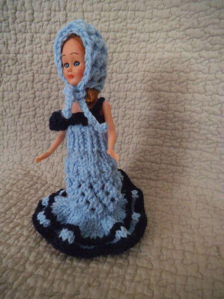 DIY robe asymétrique pour mini poupée