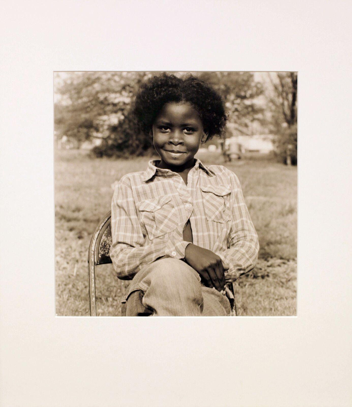 """Milton Moore's Niece"", 1982 de Robert MAPPLETHORPE - Courtesy Galerie Thaddaeus ROPAC © Photo Éric Simon"