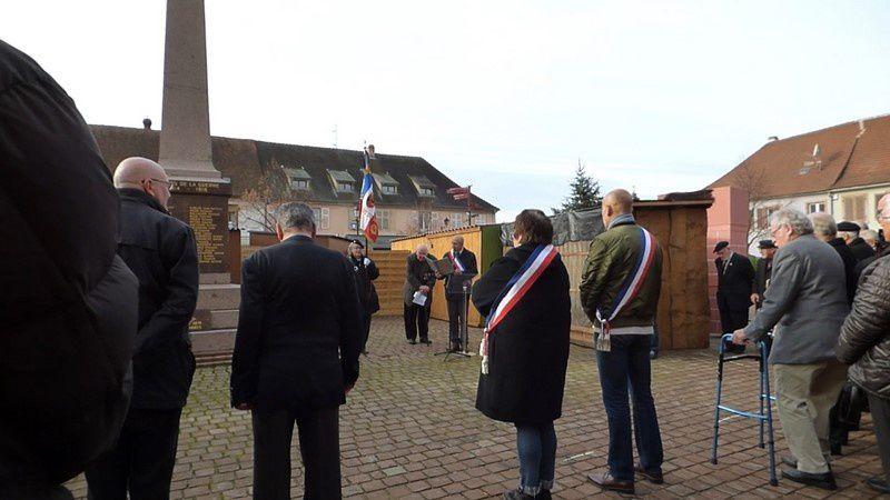 Hommage National aux Morts pour la France en AFN