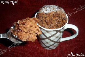 Mugcake chocolat minute