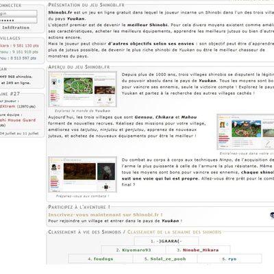 Jeux de Naruto : les meilleurs sites en ligne