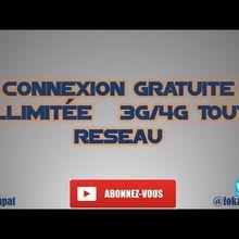 CONNEXION GRATUITE ILLIMITÉE   3G/4G TOUT RESEAU,  FIRENET
