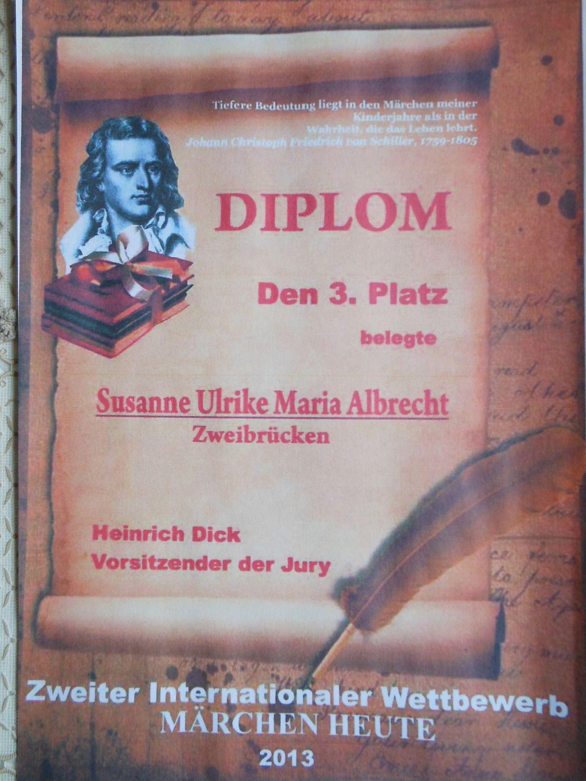 Internationaler Wettbewerb - Susanne Ulrike Maria Albrecht