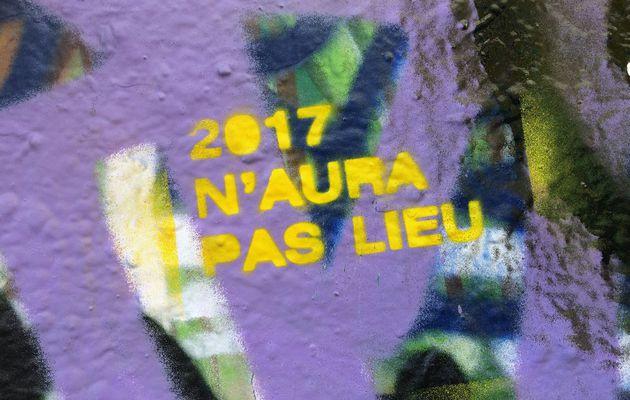 Deux mille dix-sept, année de l'élection présidentielle en France, n'aura pas lieu