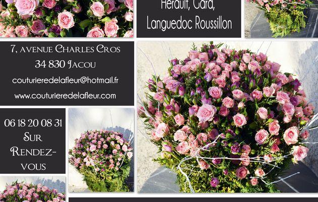 Fleurs Deuil Montpellier - Gerbe Espace funéraire Grammont