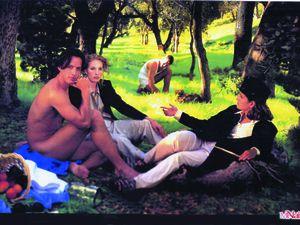 Manet : Le déjeuner sur l'herbe , revisité par un une association féministe ...