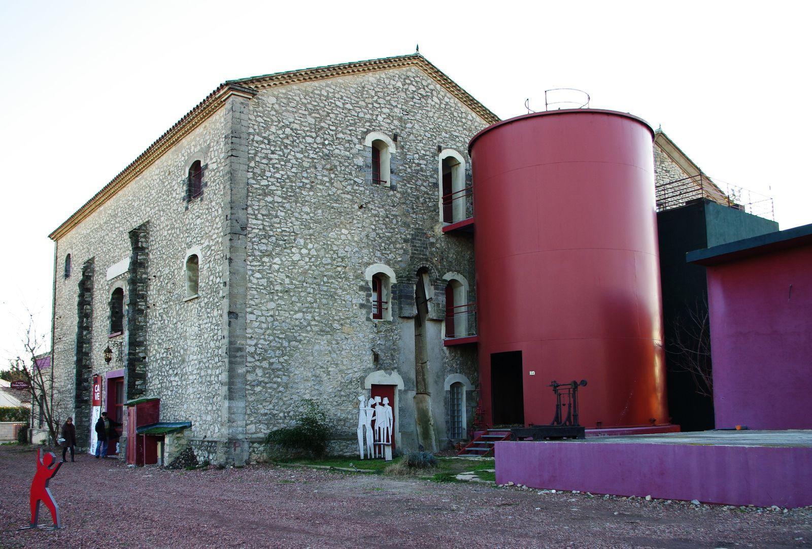 Cave coopérative de Saint-Just.