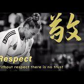 Judo values - Respect