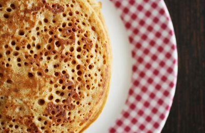 Pancakes Sans Oeufs Ni Lait { Vegan }